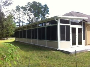 Screen Room Enclosures in Jacksonville FL by M. Daigle and Sons