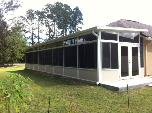 Sunroom additions screen enclosures gallery m daigle for Mobile home room addition