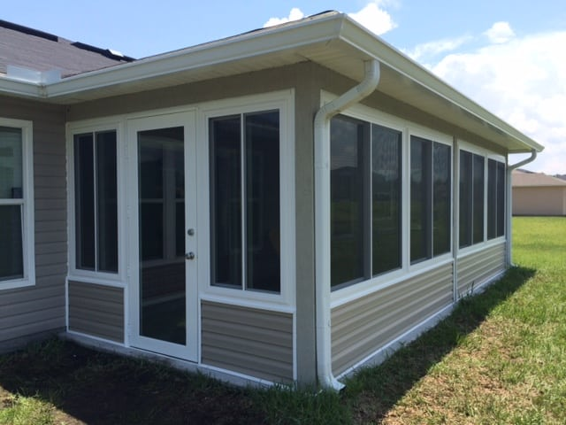 Sunroom additions screen enclosures gallery m daigle for Glass house additions