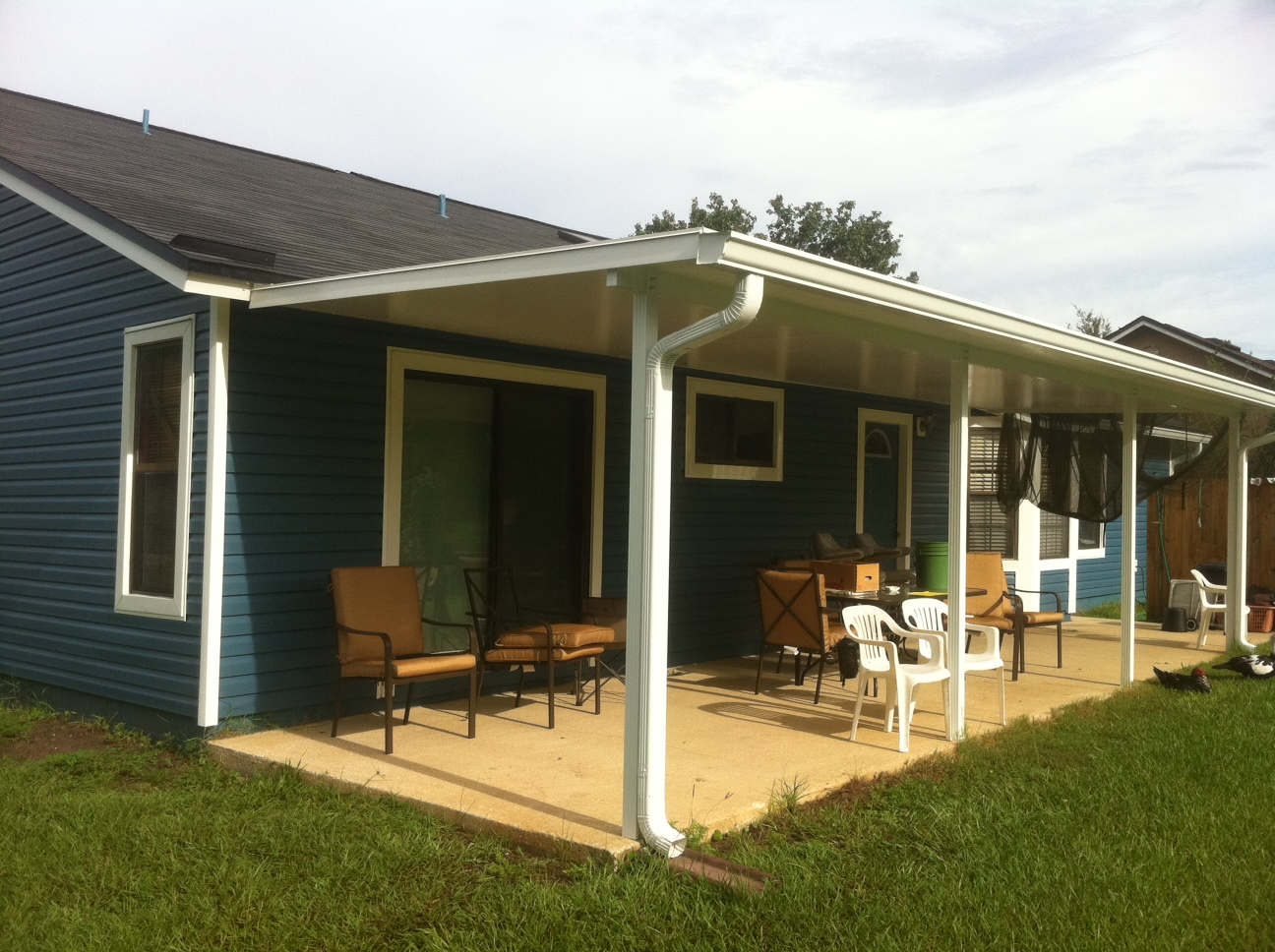 Patio covers carport roofs gallery m daigle sons for Carport deck