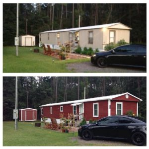 Makeover roof - Mobile Home Pitched Roof Replacement