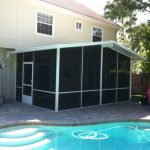 screen enclosure installation in Jacksonville FL from m daigle & sons gallery