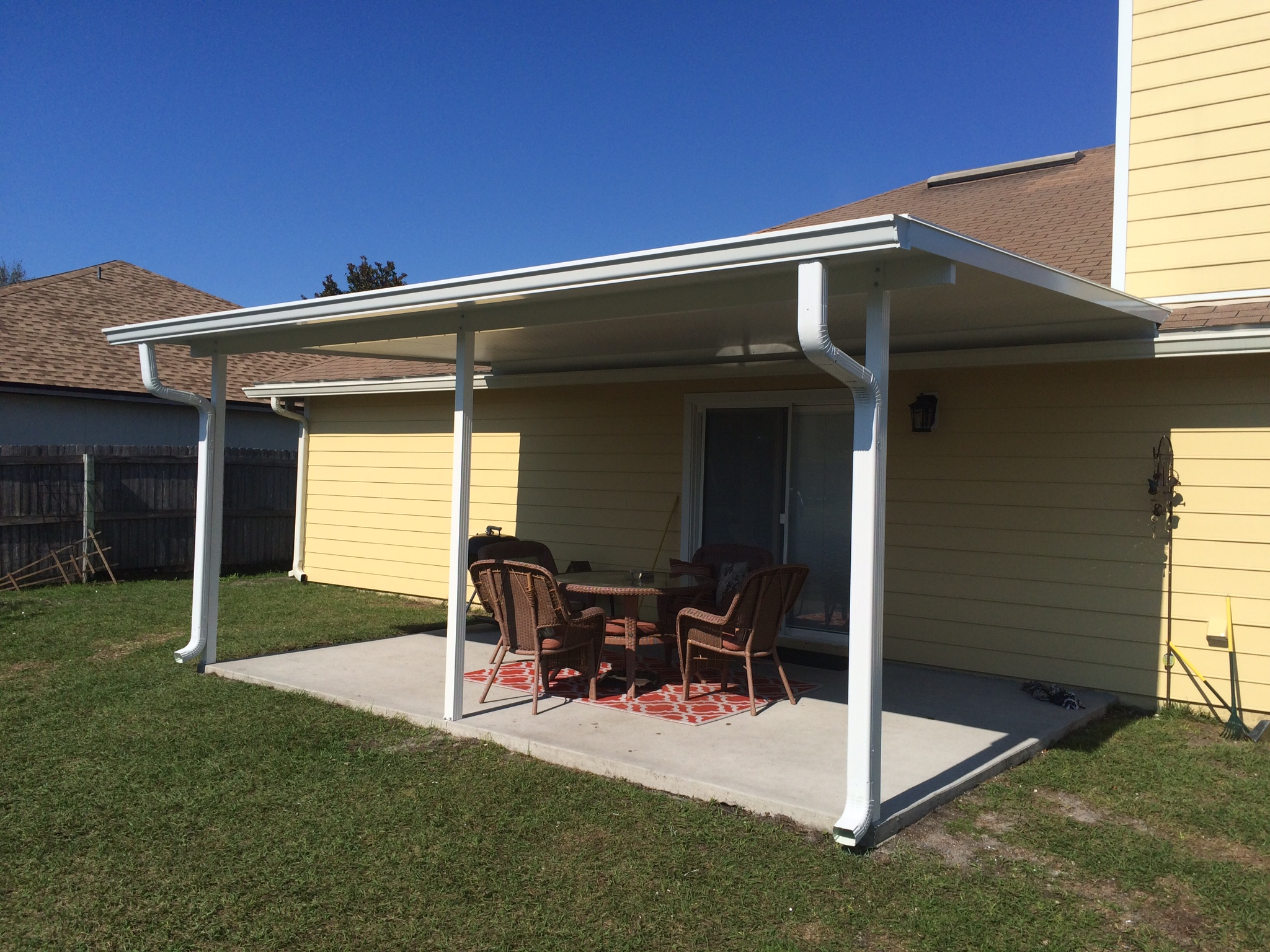 Patio covers carport roofs m daigle sons for Car patio covers