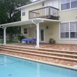 Patio roof cover installation in Jacksonville FL