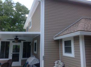 Siding soffit & fascia installation 4