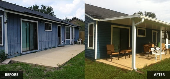 Before & After Working With Home Improvement Companies