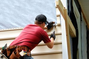 Hardie shingle siding service provided in Jacksonville FL